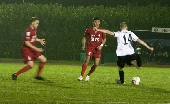The Nomads 2 - 1 Newtown AFC