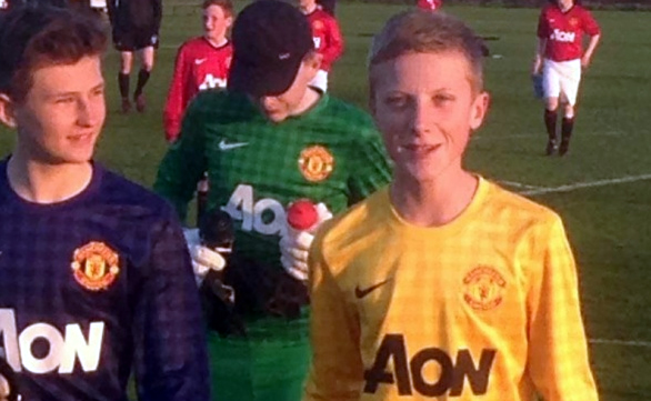 2 Nomads Academy goalkeepers trial at Manchester United