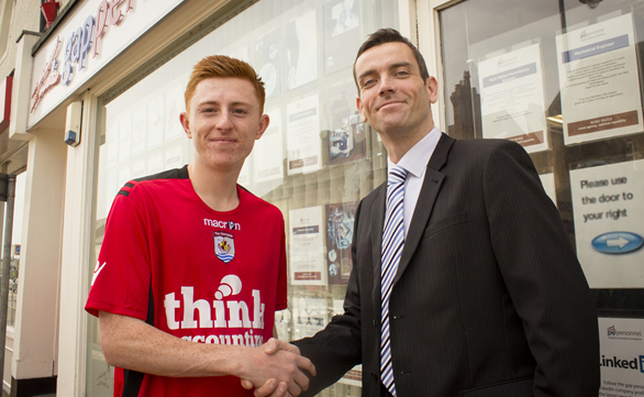 Nomads youngster fills employment gap with club owner