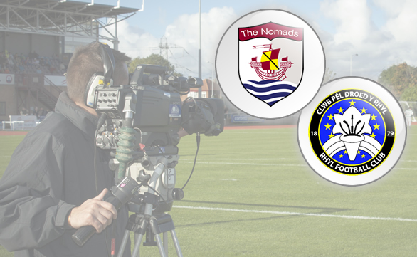 Nomads to host Rhyl live on Sgorio