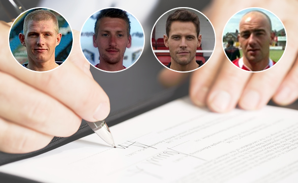 The Nomads announce four signings