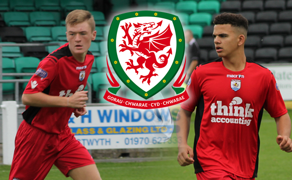 Riley and Dobson selected for Welsh Training Camp