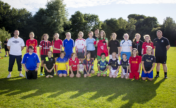 Northop Hall Girls join The Nomads