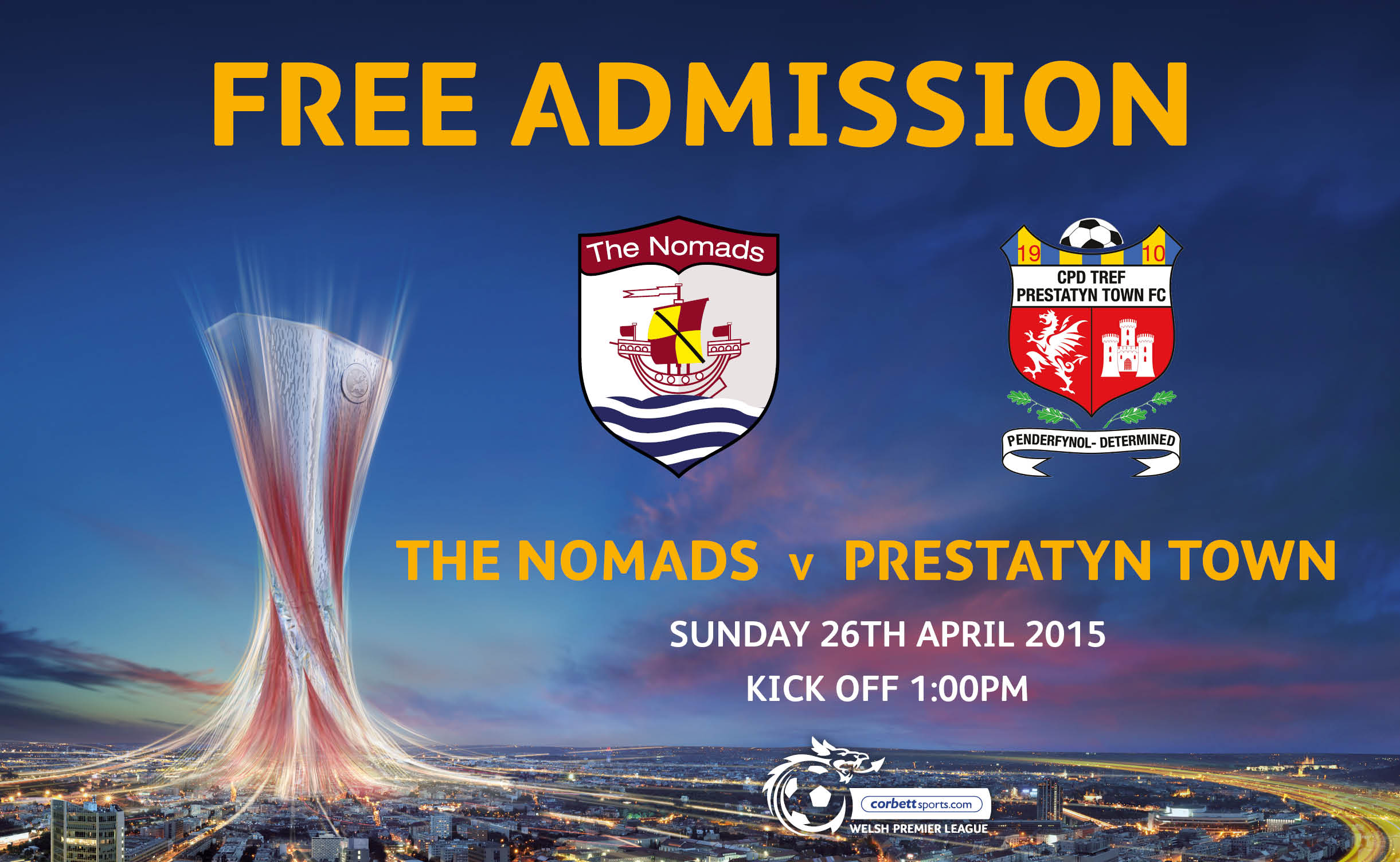 The Nomads offer free admission in final push for Europa League Play Offs