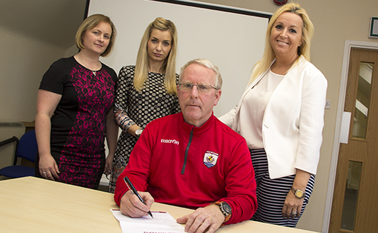 Bickerstaff signs three year deal at Deeside