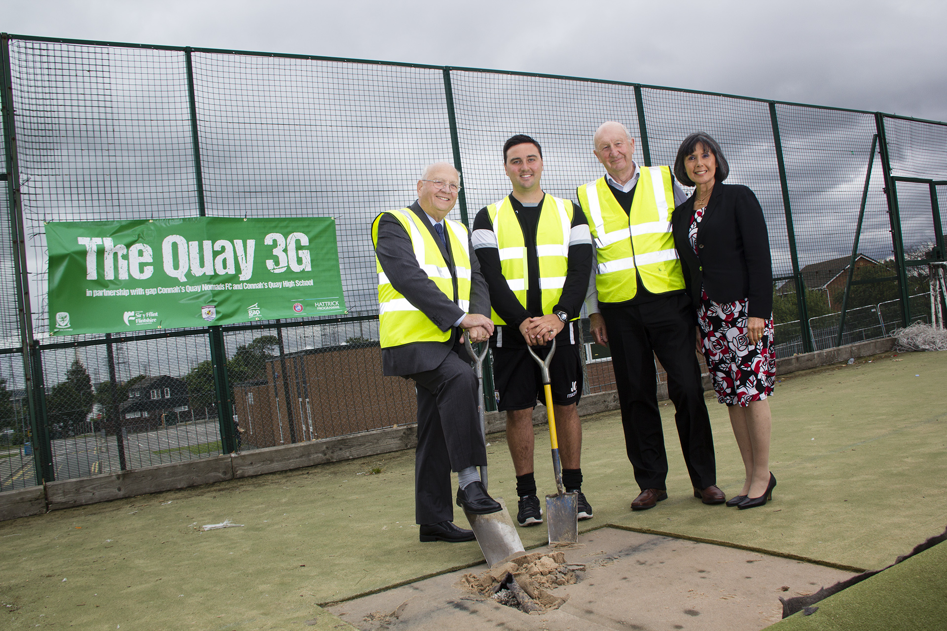Construction begins at The Quay 3G