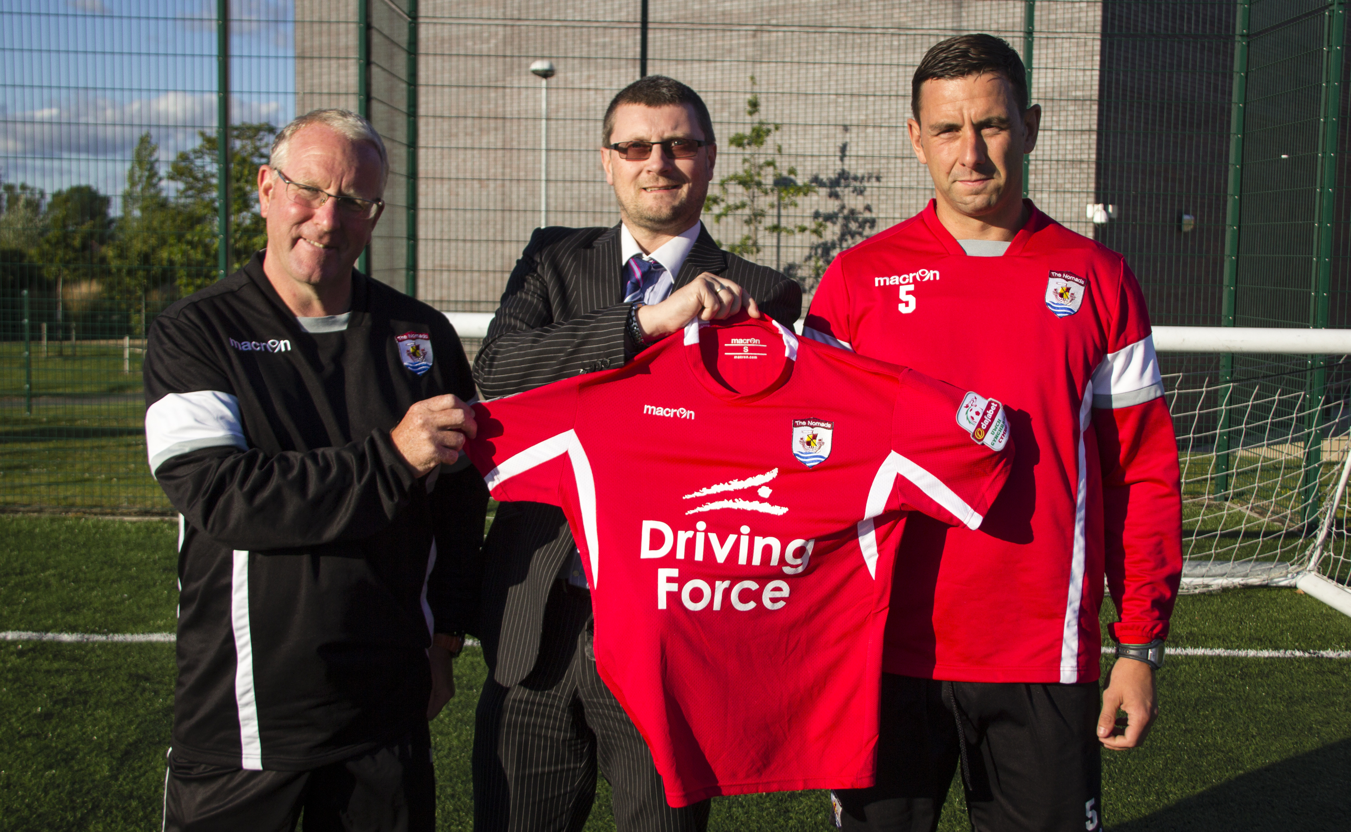New sponsorship deal drives The Nomads into new season