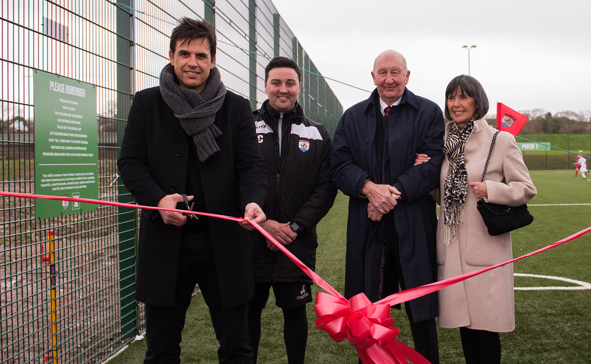 Coleman officially opens The Quay 3G