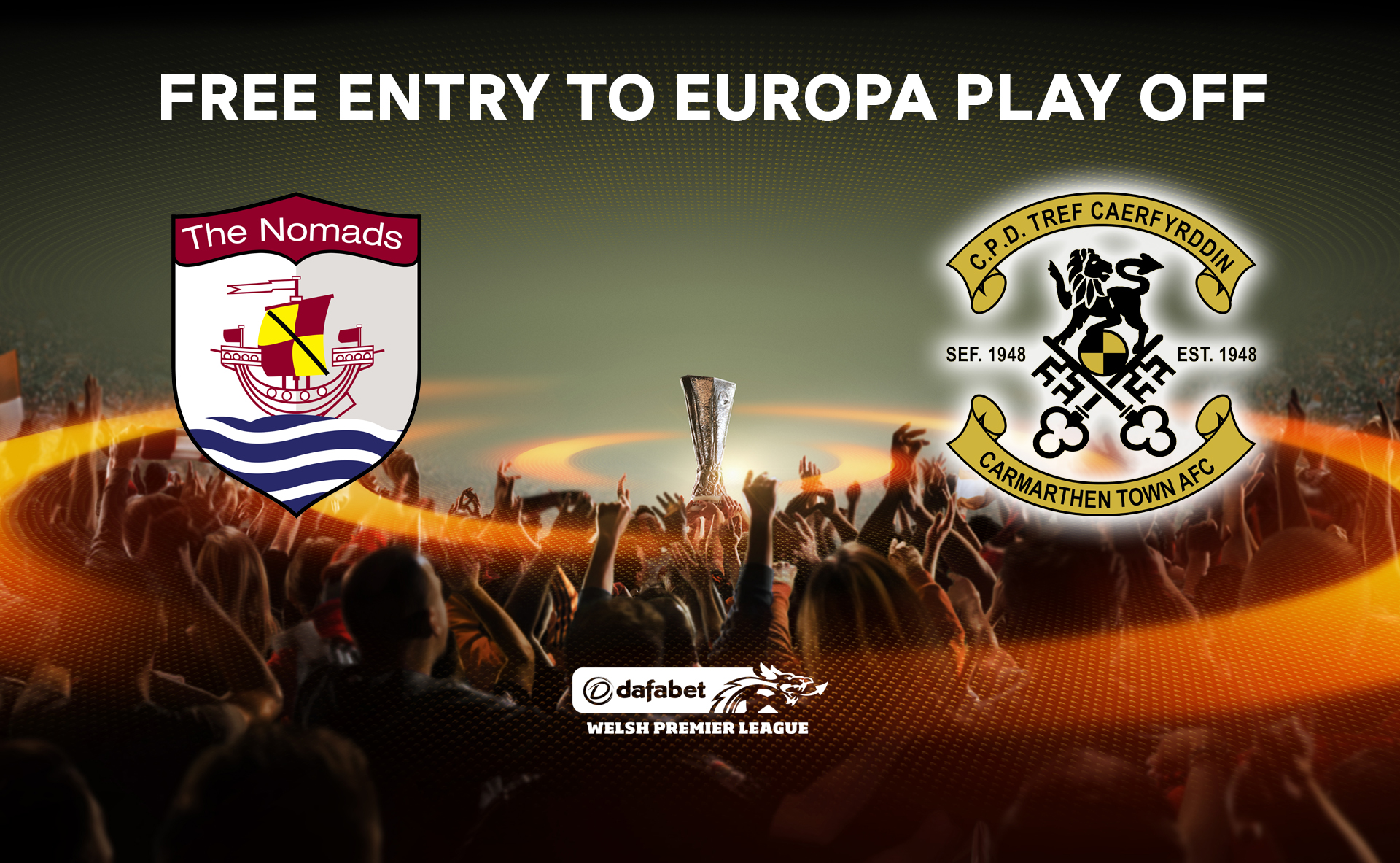 Carmarthen confirmed for play off semi final