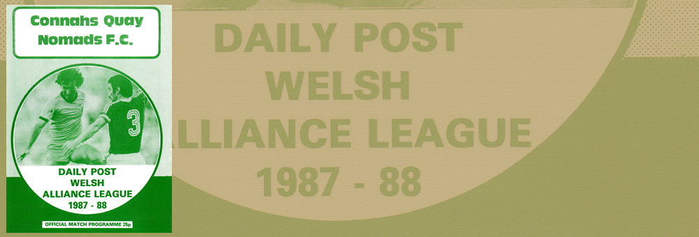 Welsh Alliance League - 1987-88