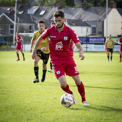 Match Highlights from Carmarthen Town AFC 0-0 The Nomads
