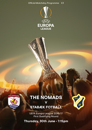 The Nomads vs Stabaek Fotball - UEFA Europa League First Qualifying Round