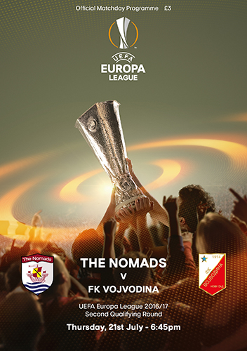 The Nomads vs FK Vojvodina - UEFA Europa League Second Qualifying Round