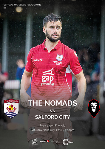 The Nomads vs Salford City - Pre Season Friendly