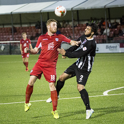 Match Highlights from Cefn Druids AFC 0-0 The Nomads