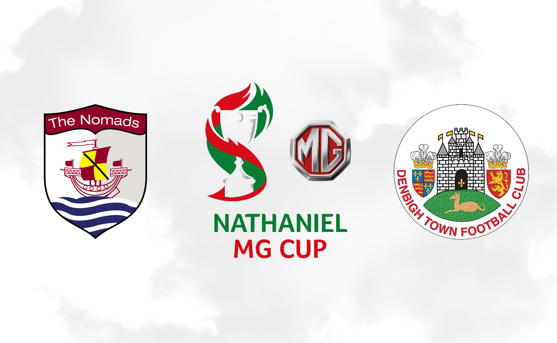 The Nomads will face Denbigh Town in the second round of the Nathaniel MG Cup