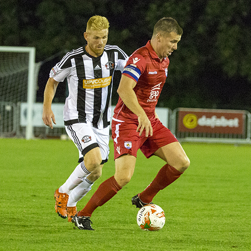 Match Highlights from The Nomads 1-1 Llandudno FC