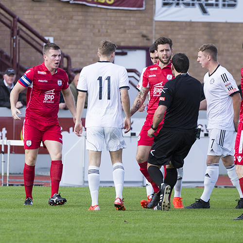 Match Highlights from The Nomads 2-0 Rhyl FC