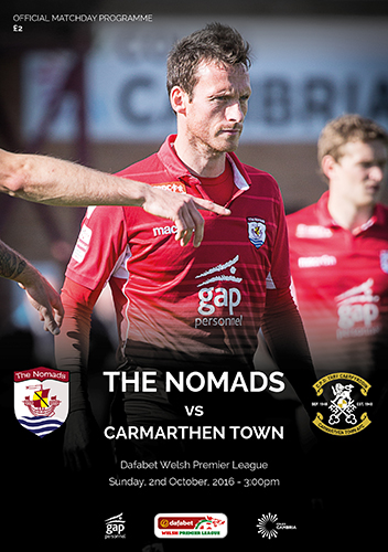The Nomads vs Carmarthen Town AFC