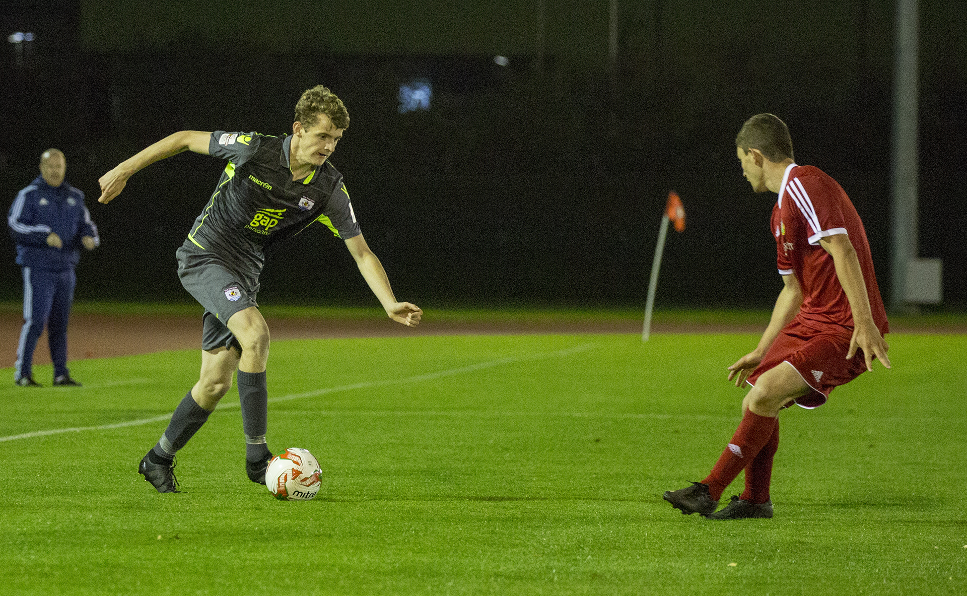 18-year-old Luke Blizzard made his competitive debut for The Nomads - © NCM Media