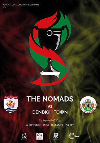 The Nomads vs Denbigh Town - Nathaniel MG Cup