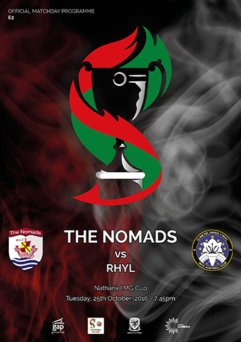 The Nomads vs Rhyl - Nathaniel MG Cup