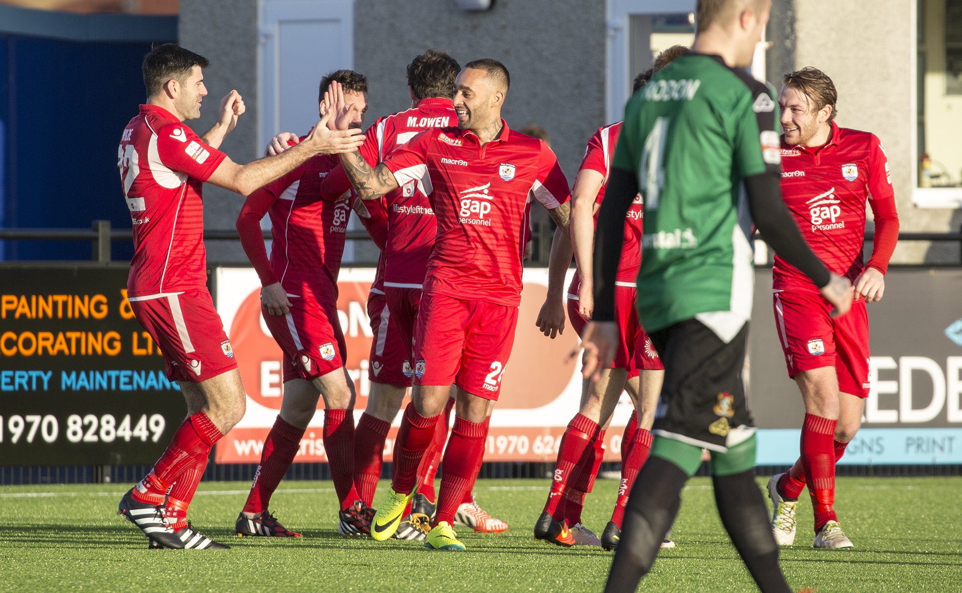 Nomads bounce back at Park Avenue