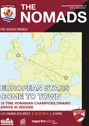 The Nomads vs Dinamo Bucuresti