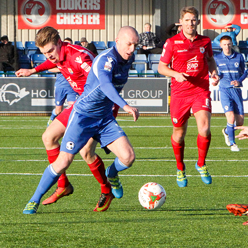 Match Highlights from Airbus UK Broughton FC 0-3 The Nomads