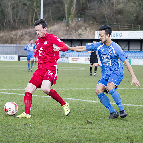 Match Highlights from Haverfordwest County AFC 1-5 The Nomads