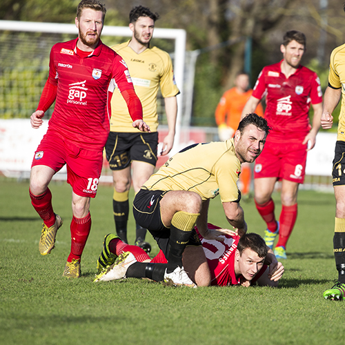 Match Highlights from The Nomads 0-1 Carmarthen Town AFC