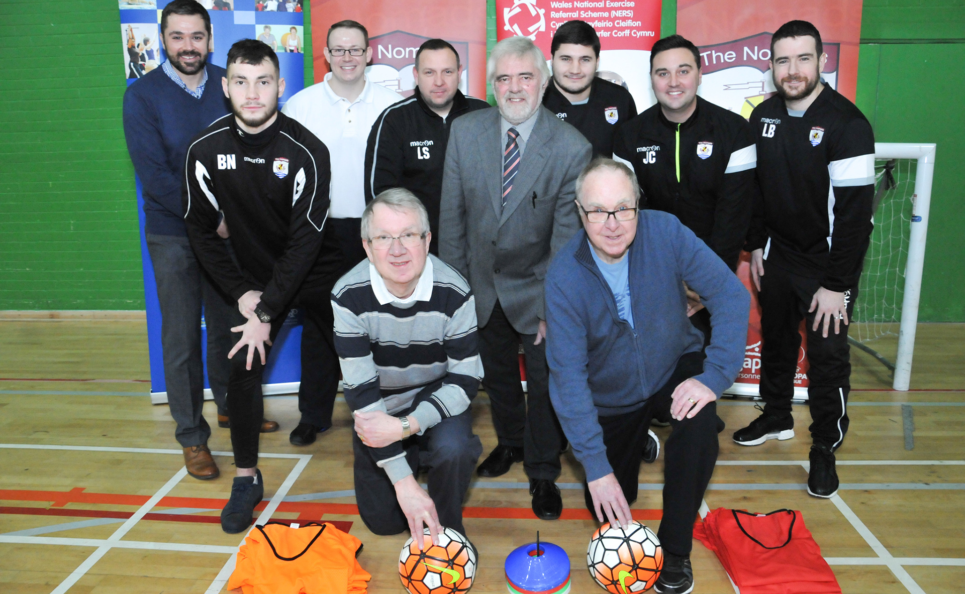 Walking football gathers pace at The Nomads