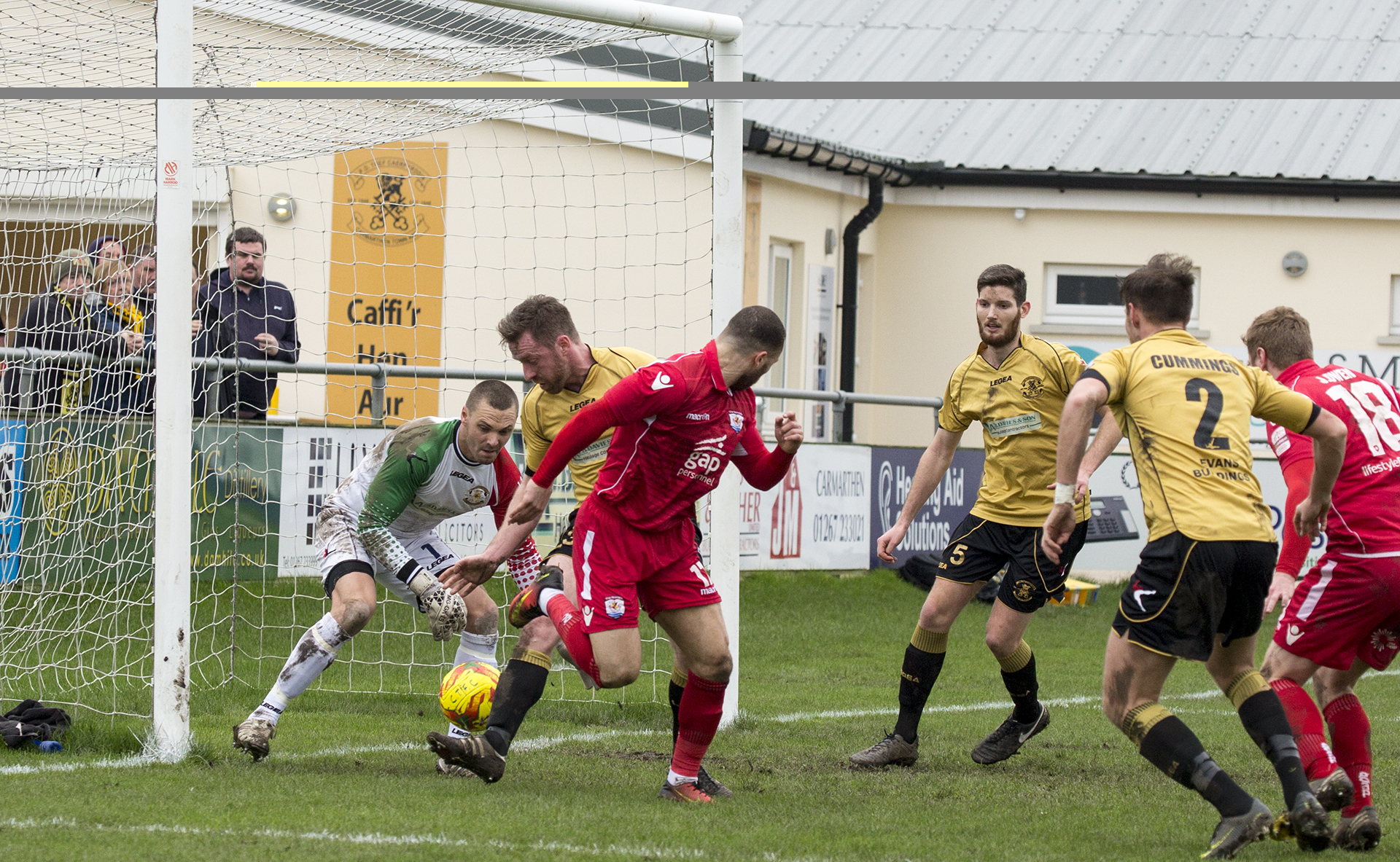 Ryan Wignall backheels The Nomads into the lead - © NCM Media