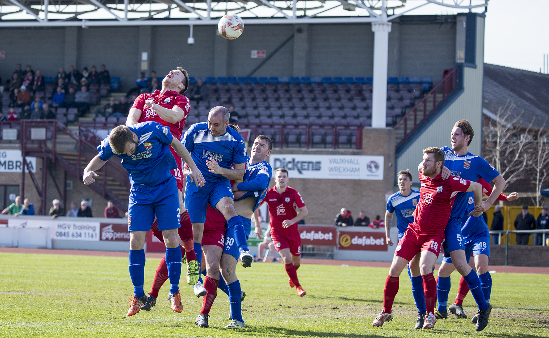 Nomads held by Bangor in draw at Deeside