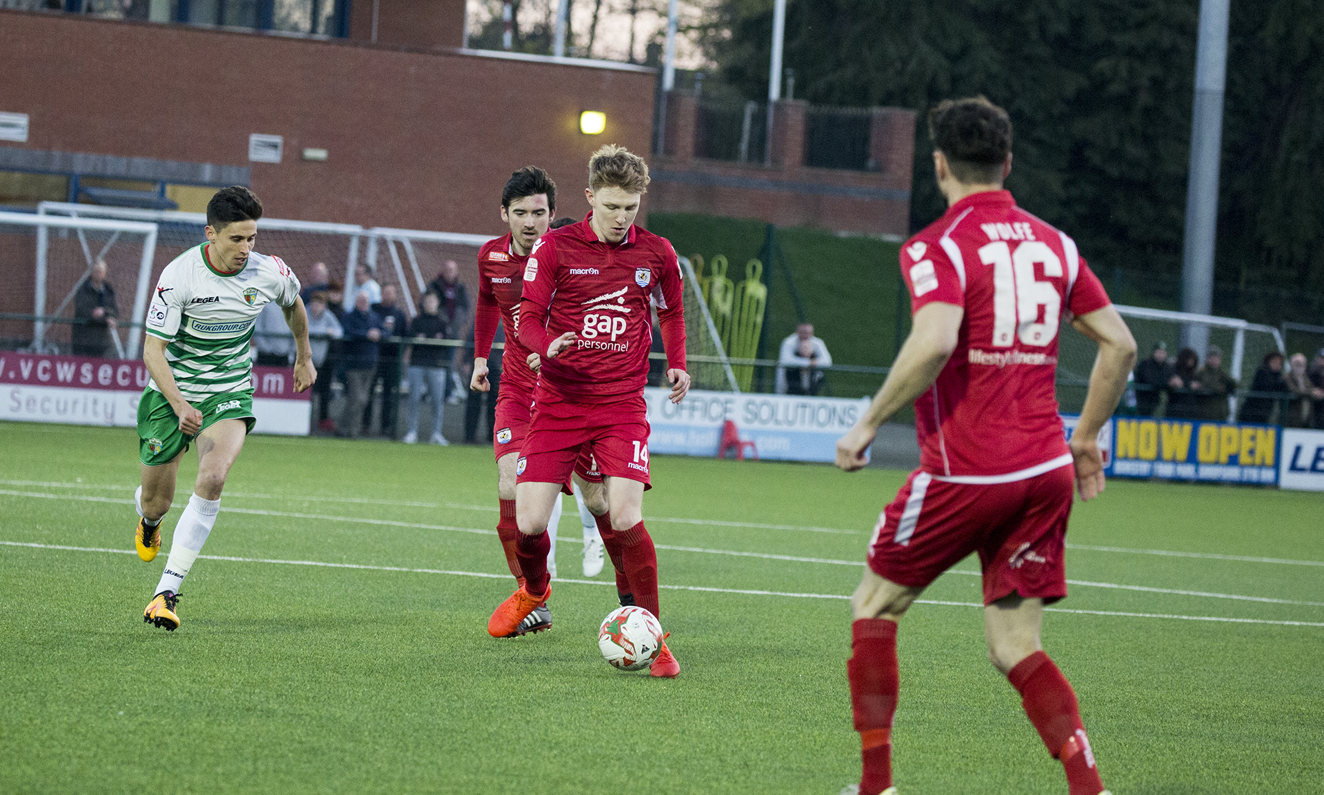 Declan Poole made his full debut for The Nomads