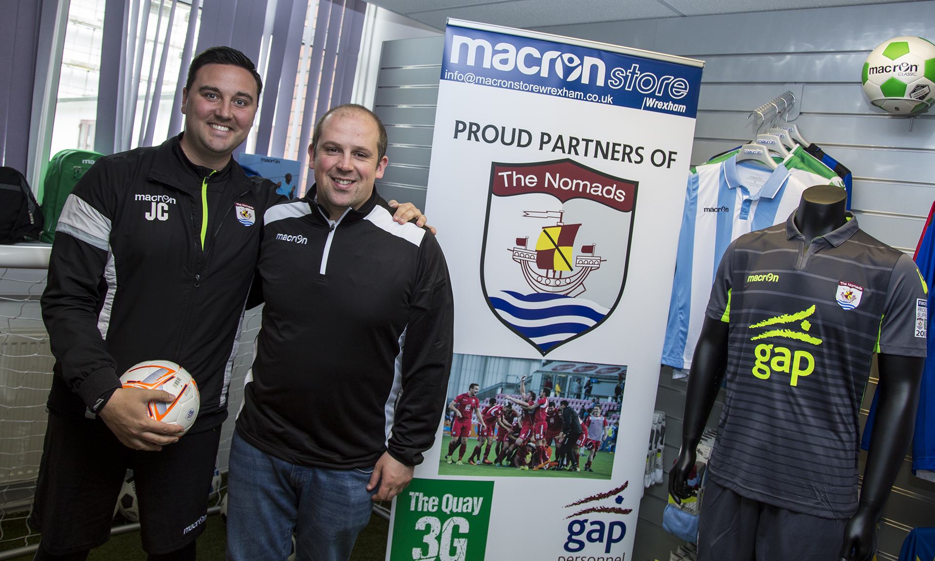 Nomads sign two year deal with Macron