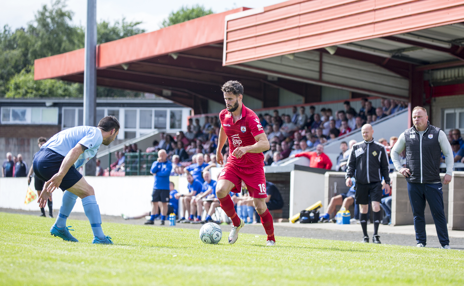 Nomads match Ballymena in pre-Europa friendly