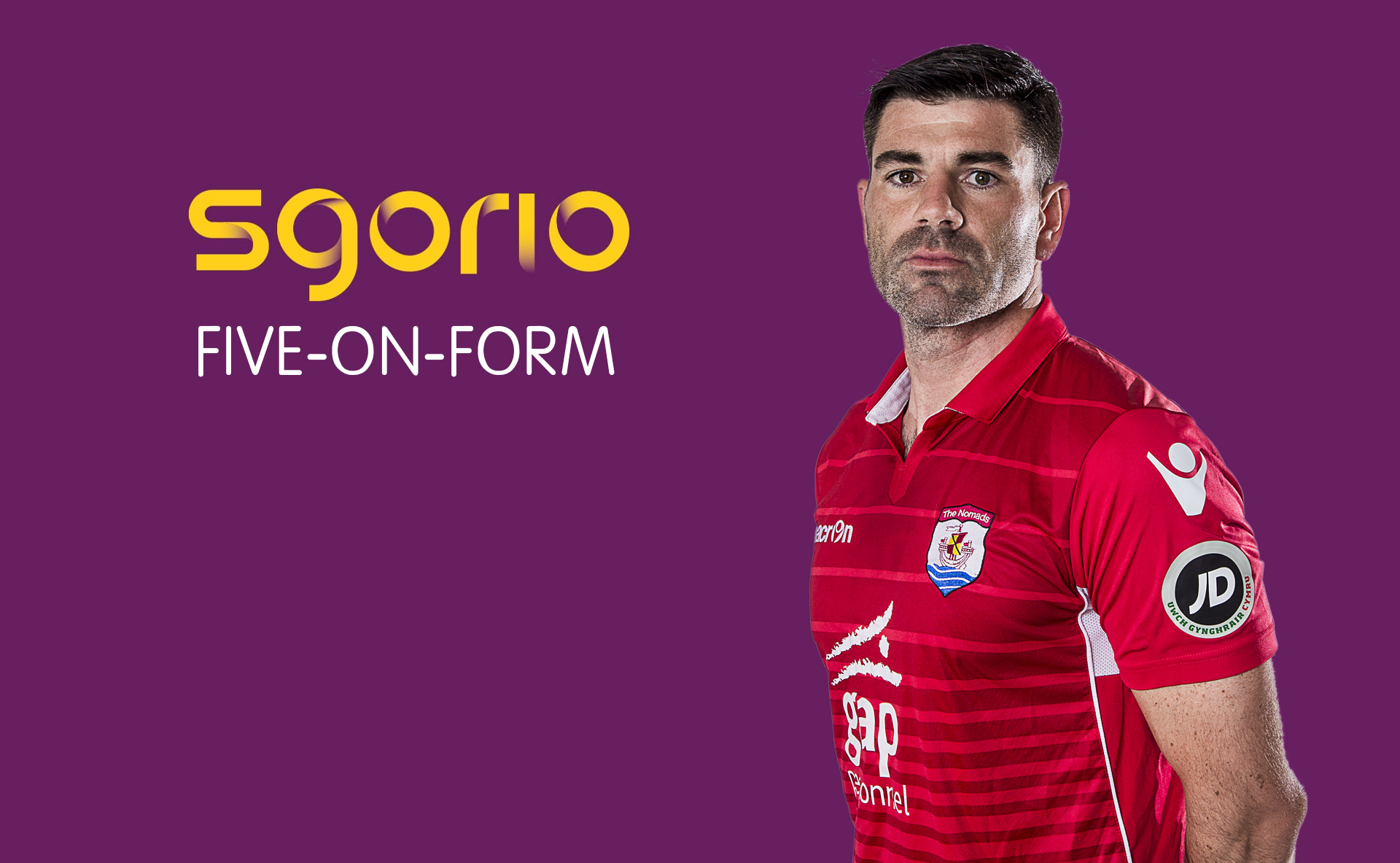 Michael Wilde has been named in the JD Welsh Premier League Matchday 4 Sgorio 5-on-form