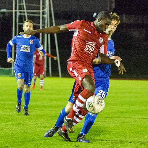 Match Highlights from The Nomads 2-0 Bangor City FC