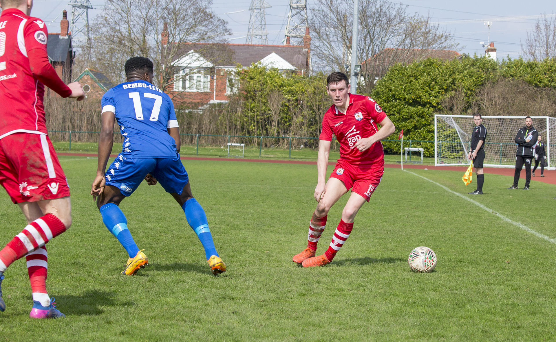 Sean Smith was one of The Nomads' outstanding players on the day - © NCM Media
