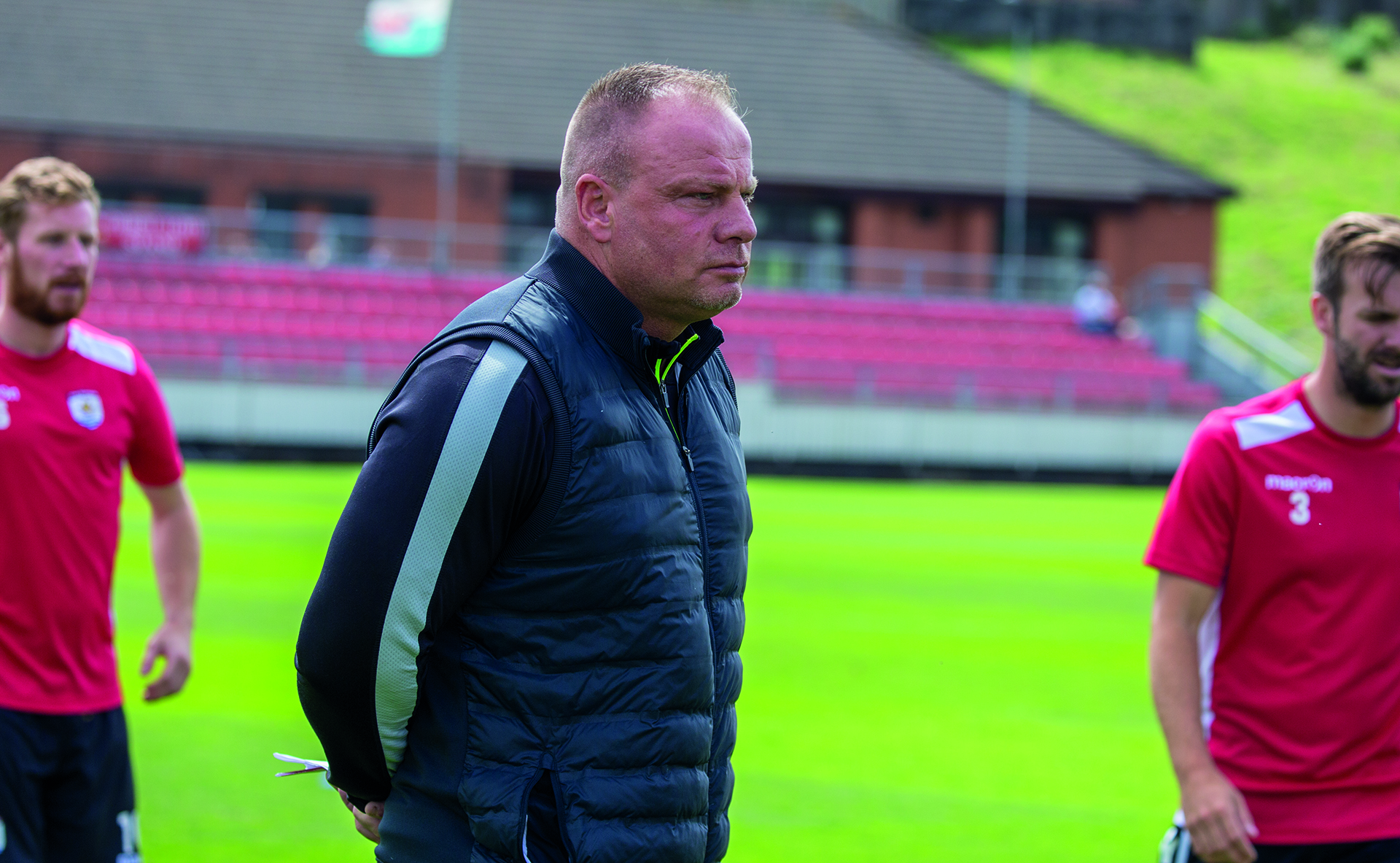 Andy Morrison was delighted with The Nomads' 1-0 victory over TNS © NCM Media