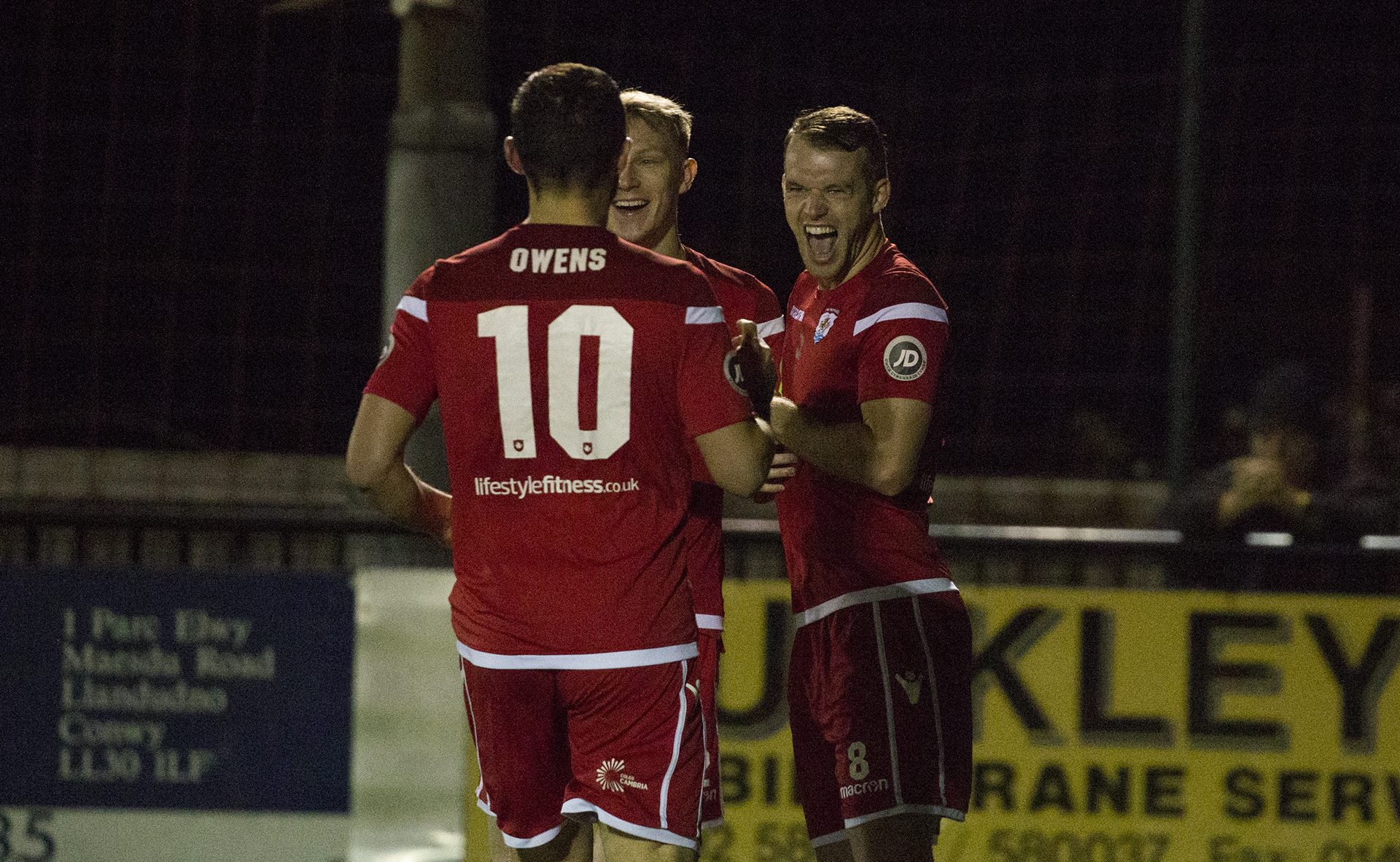 Callum Morris was the star of the show as his hat trick gave The Nomads a 4-0 victory © NCM Media