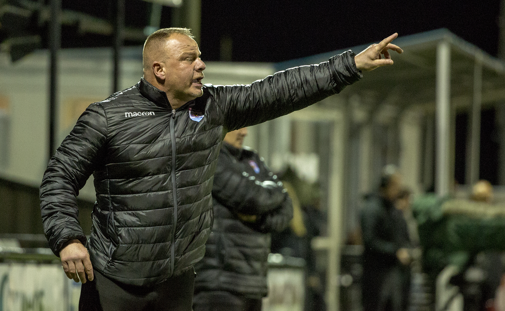 Andy Morrison pictured during The Nomads' 4-0 victory at Llandudno © NCM Media