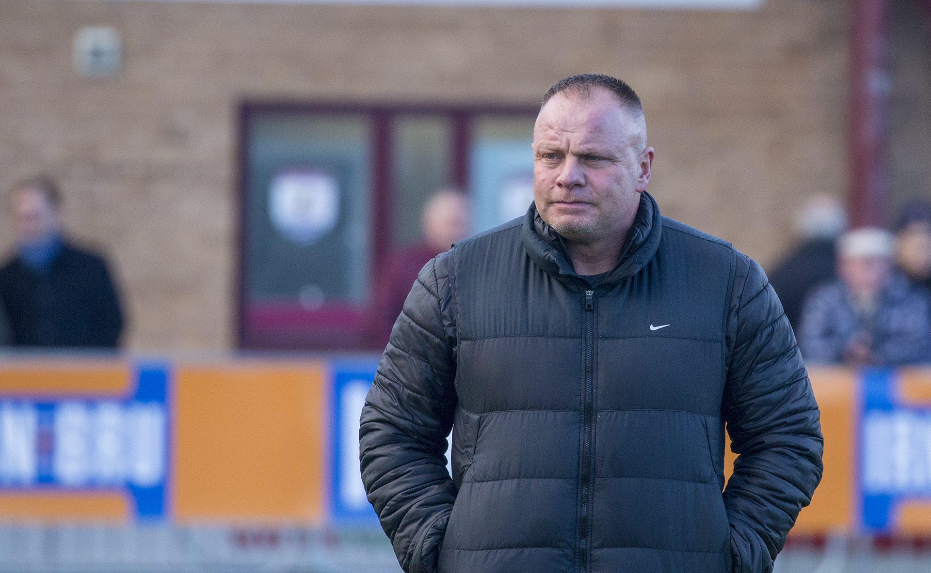 Andy Morrison was pleased with The Nomads' 4-1 victory over Bala Town on New Year's Day | © NCM Media