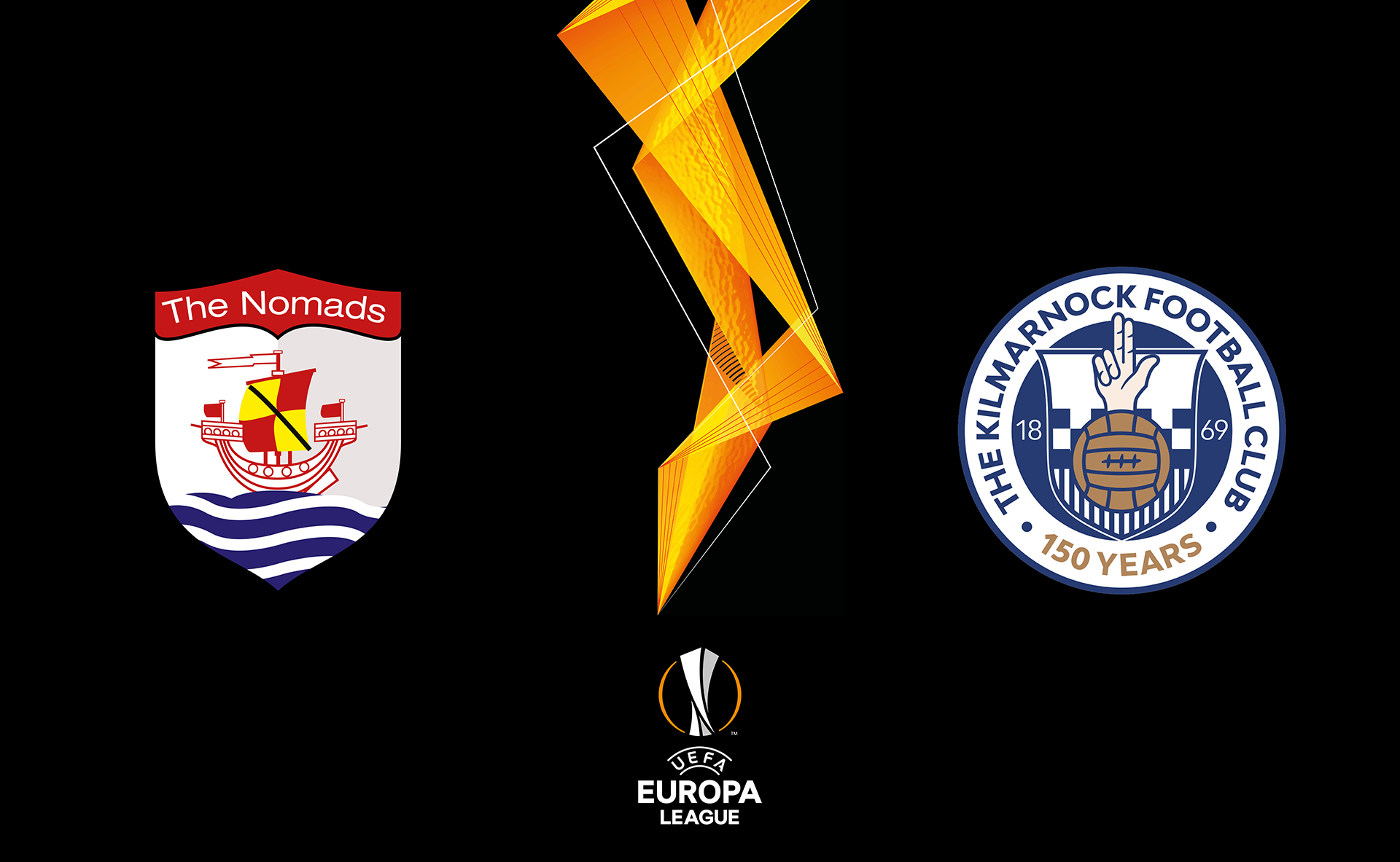 Connah's Quay Nomads vs Kilmarnock in he UEFA Europa League First Qualifying Round