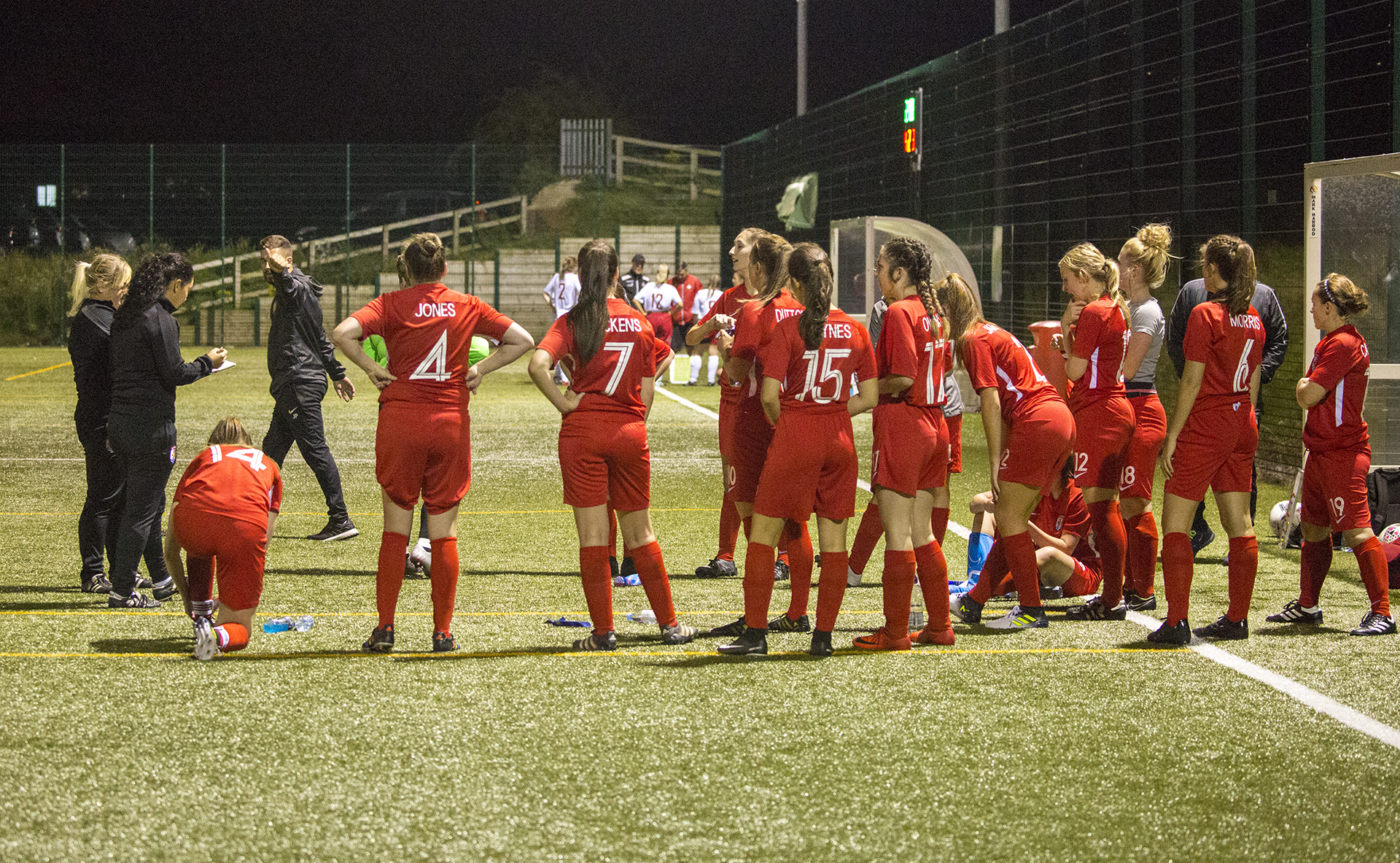 Nomads Ladies' inaugural game a resounding success