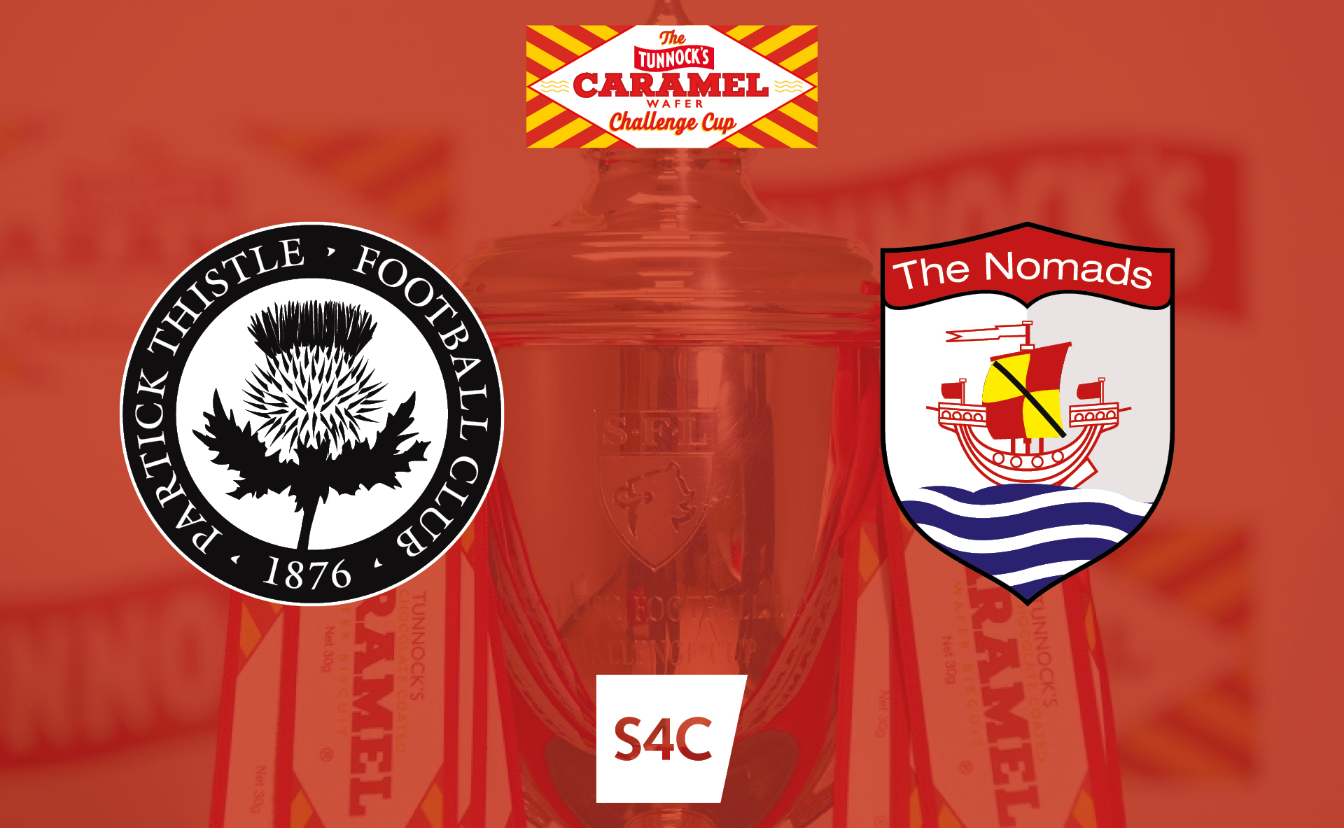 Partick Thistle vs Connah's Quay Nomads - Tunnock's Caramel Wafer cup - Live on S4C - Saturday 12th October 2019