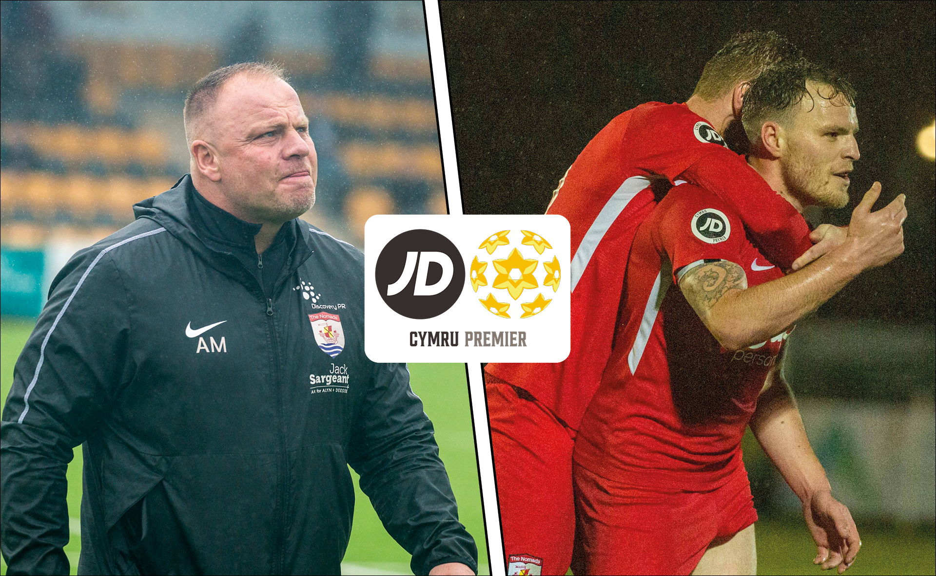 Andy Morrison and Jamie Insall have won the October JD Cymru Premier Manager and Player of the Month awards