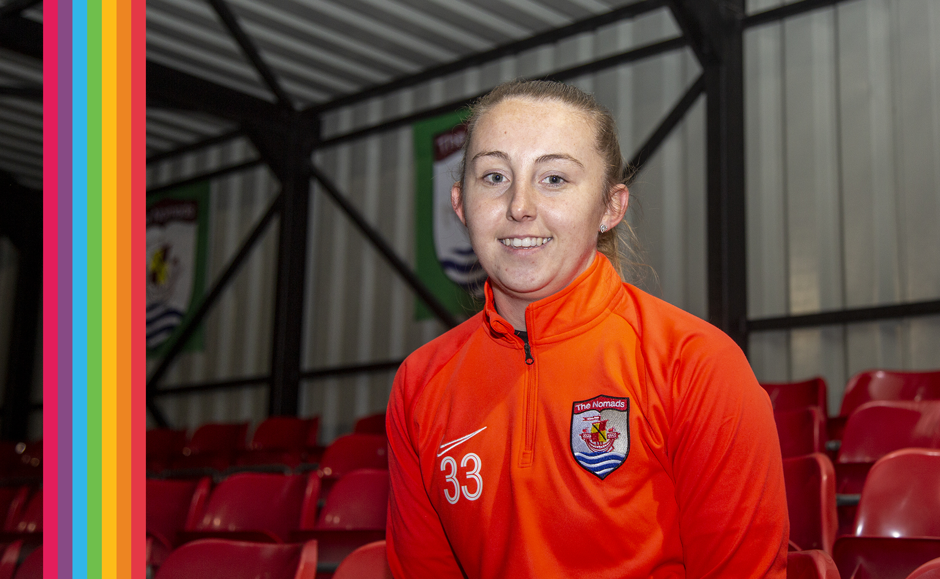 Rachael Nattrass of Connah's Quay Nomads Ladies | © NCM Media
