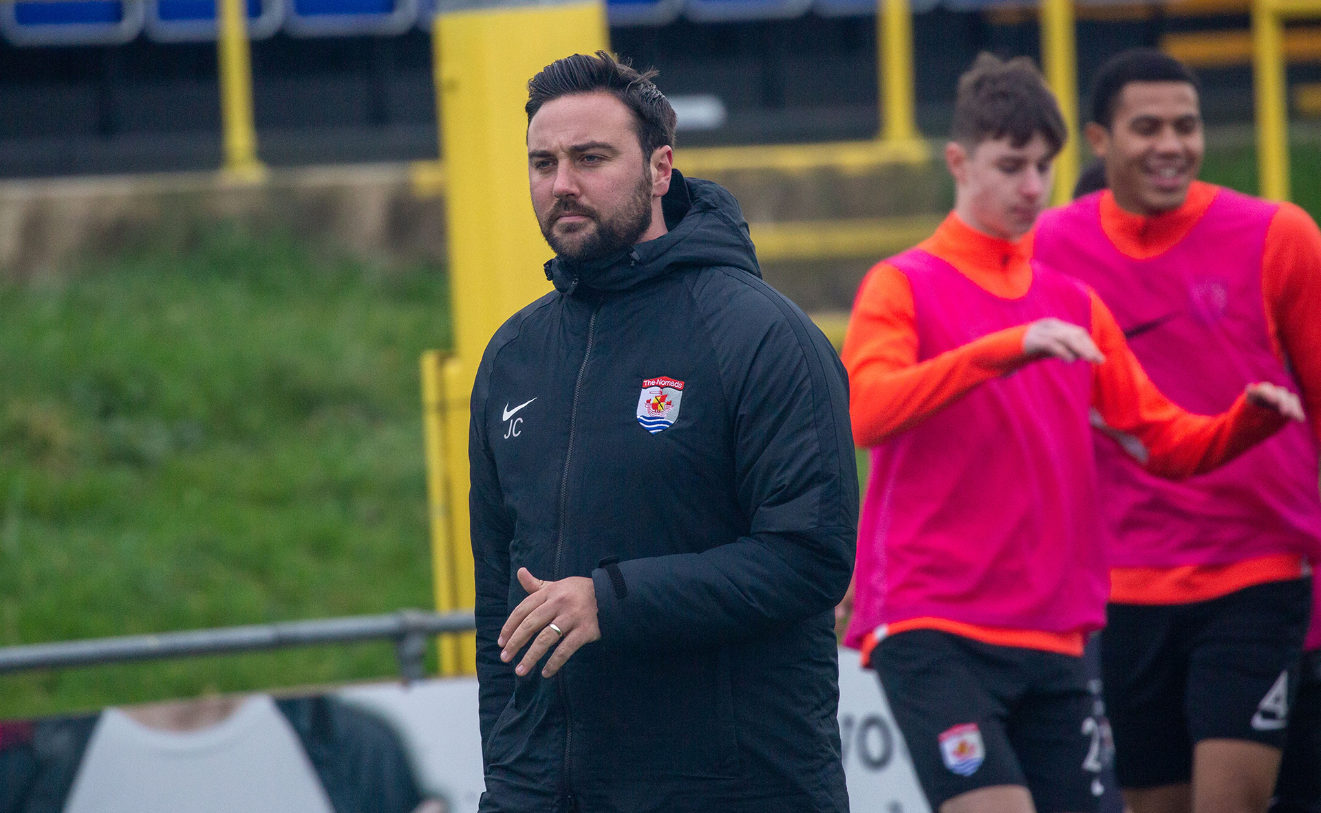 Jay Catton has signed a new three year deal at Connah's Quay Nomads | Photo: Tom Houghton